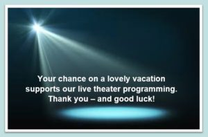 YOUR TICKET SUPPORTS OUR PROGRAMMING